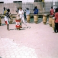 Drumming with the Streek Kids, Bujumbura, Burundi 2004